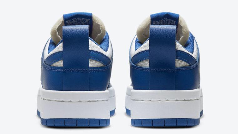 Nike Dunk Low Disrupt Game Royal Back thumbnail image