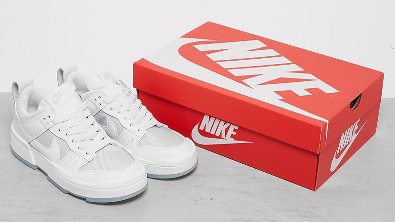 Nike Dunk Low Disrupt Photon Dust Box