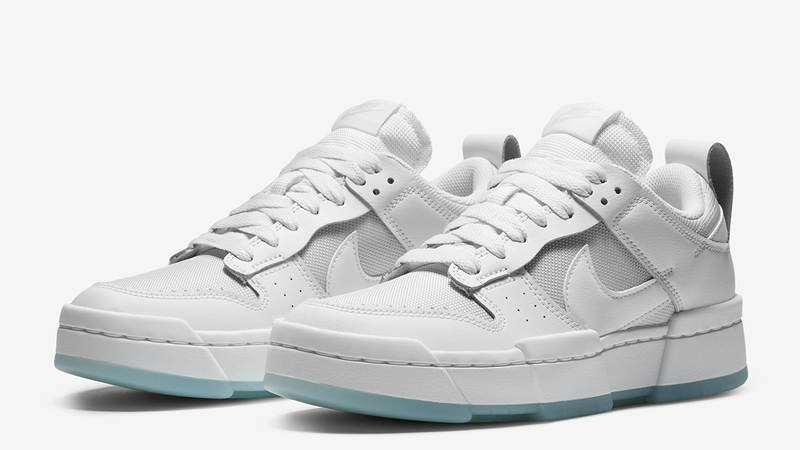 Nike Dunk Low Disrupt Photon Dust White Front