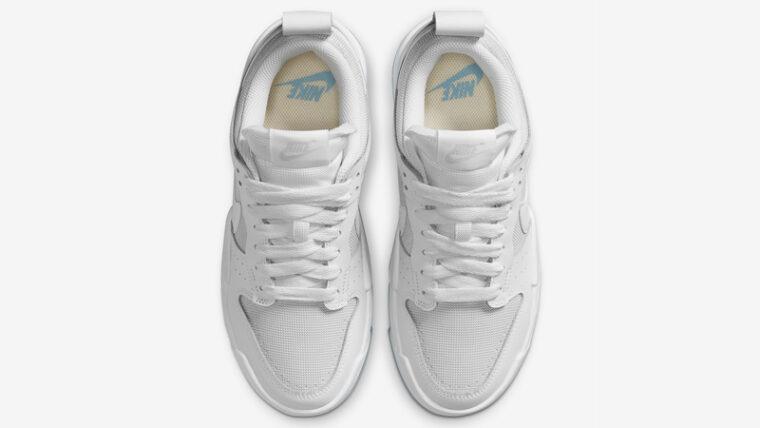 Nike Dunk Low Disrupt Photon Dust White Middle thumbnail image