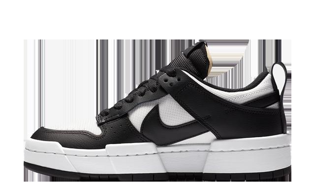 Nike Dunk Low Disrupt White Black