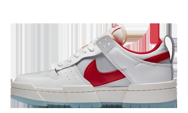 Nike Dunk Low Disrupt White Red
