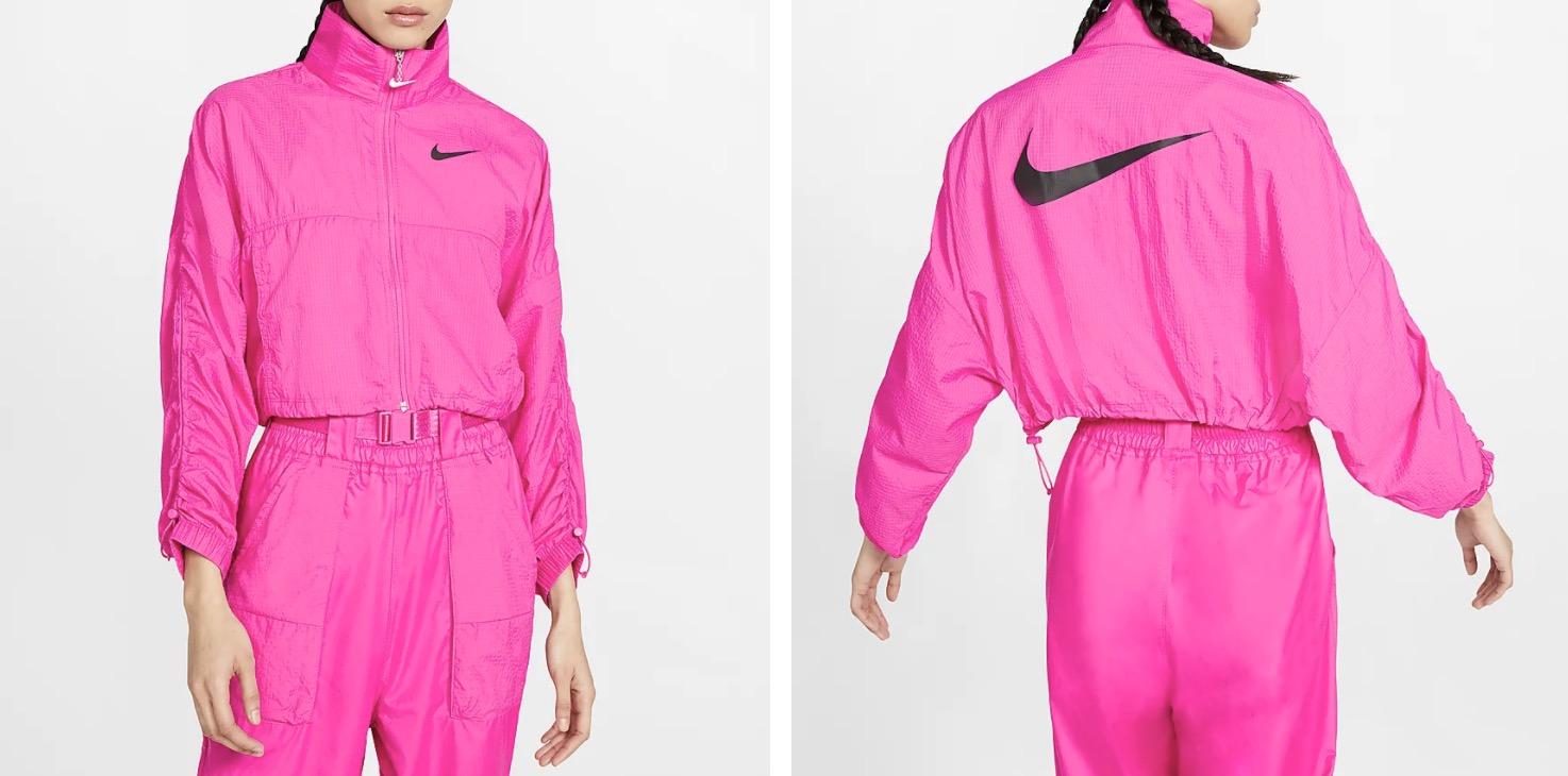 Nike Sportswear Swoosh Jacket Pink