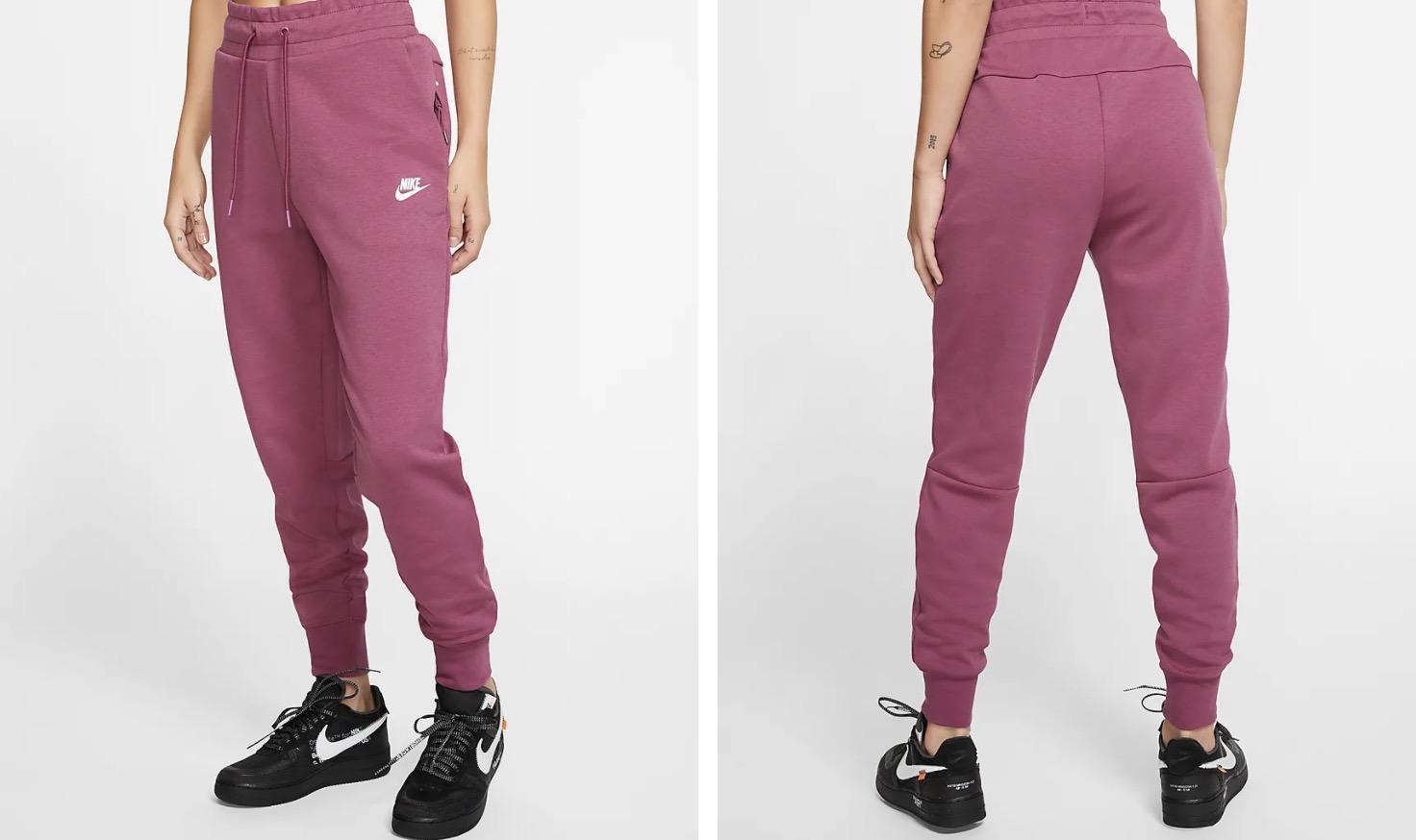 Nike Sportswear Tech Fleece Trousers Mulberry Rose