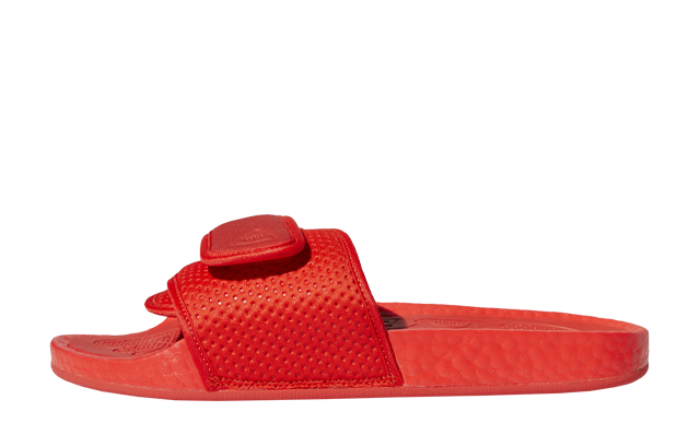 Pharrell Williams x adidas Boost Slide Active Red