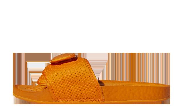Pharrell Williams x adidas Boost Slide Bright Orange