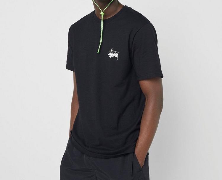 Stussy Basic Logo T-Shirt Black