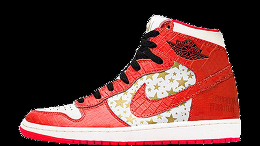 Supreme x Jordan 1 High Varsity Red