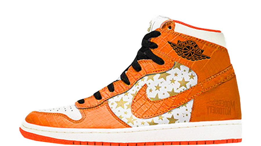 Supreme x Jordan 1 High Stars College Orange