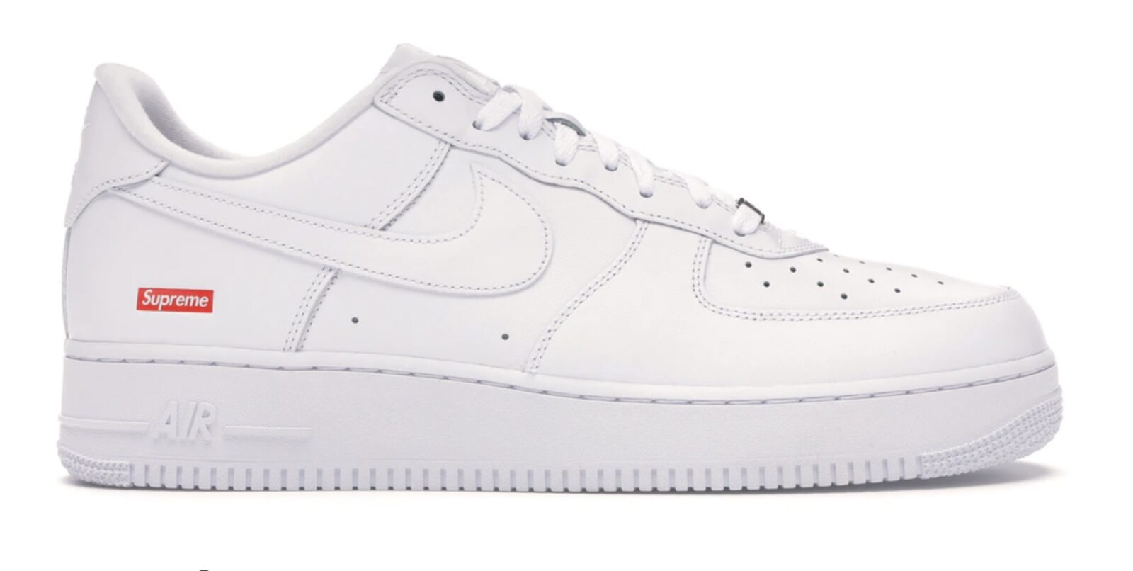 Supreme x Nike Air Force 1 White