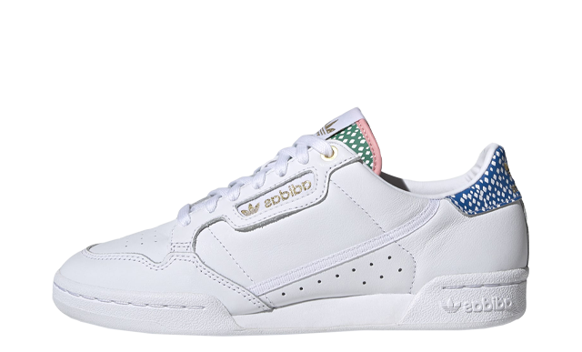 adidas Continental 80 White Blue Gold
