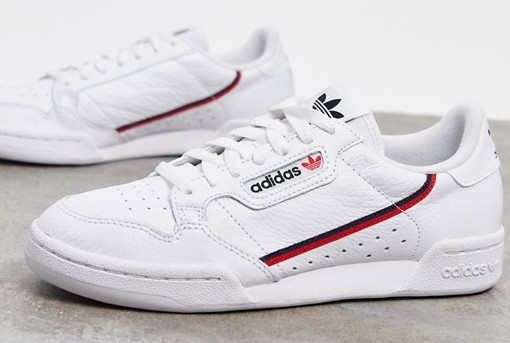 adidas Continental 80 White Red