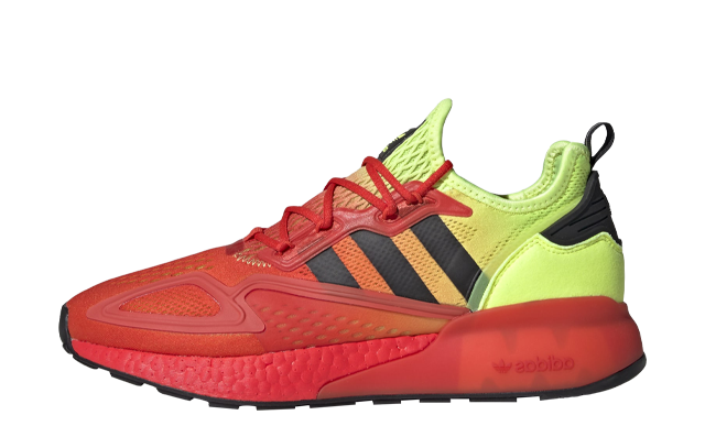 adidas ZX 2K Boost Solar Yellow Red