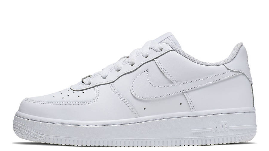 Nike Air Force 1 Low GS White | Where To Buy | 314192-117 | nike ...