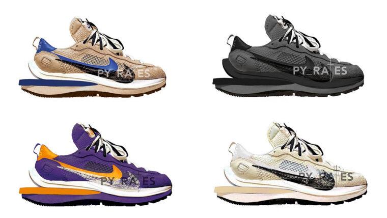sacai x Nike VaporWaffle 2021