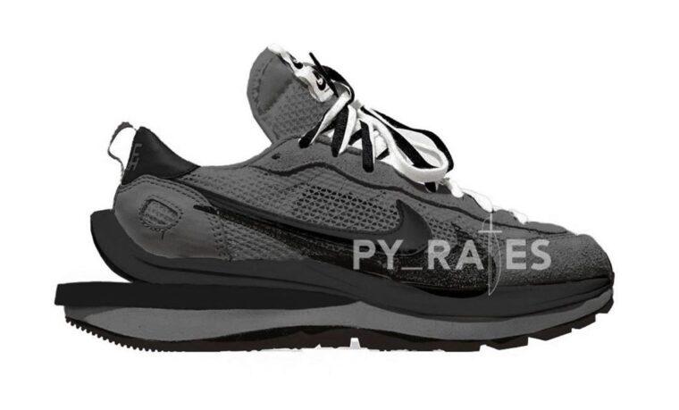 sacai x Nike VaporWaffle Black Noir