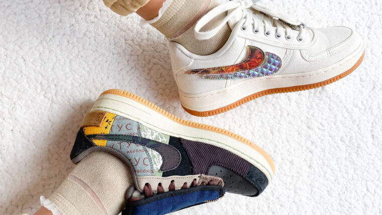 sallyssneaker Nike Air Force 1 Travis Scott