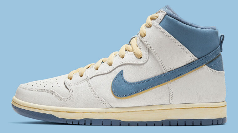 Atlas x Nike Dunk High Blue