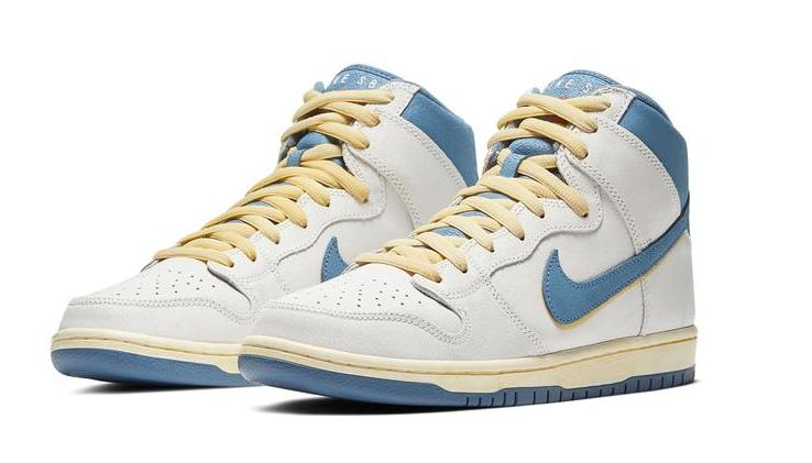 Atlas x Nike Dunk High Lost At Sea. front