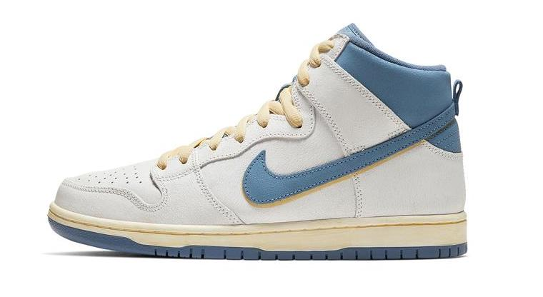 Atlas x Nike Dunk High Lost At Sea. side
