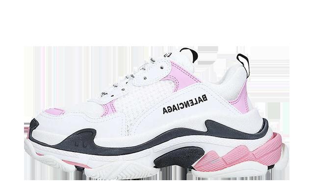 Balenciaga Triple S White Pink