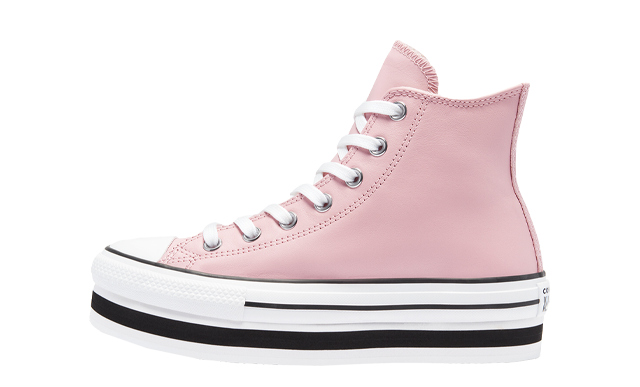 Converse Chuck Taylor All Star Leather EVA High Top Pink