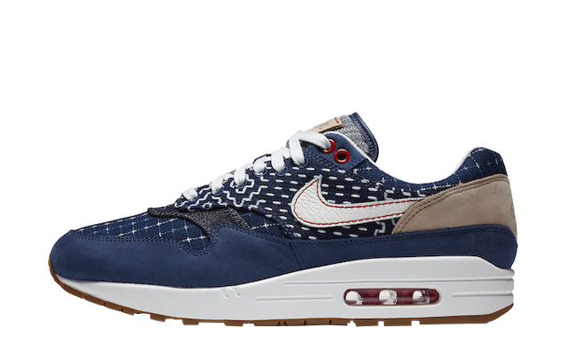 Denham x Nike Air Max 1 Denim Blue