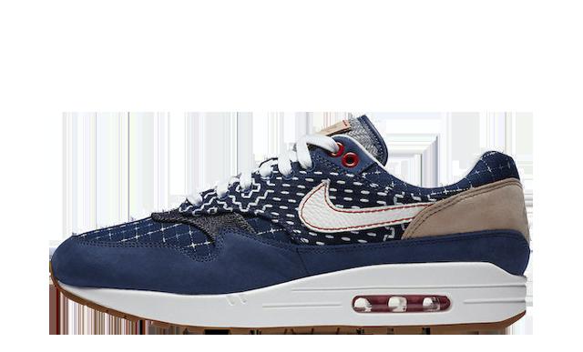 Denham x Nike Air Max 1 Denim Blue