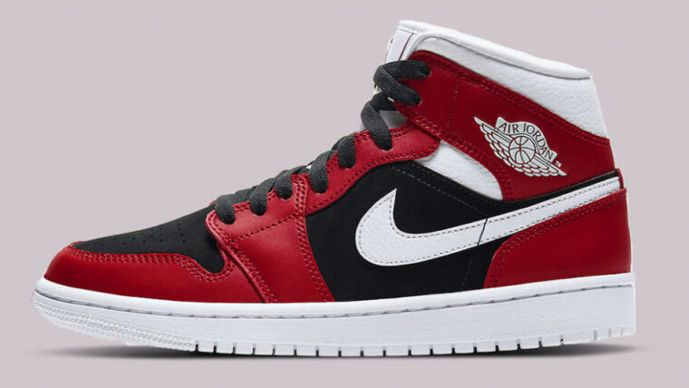 Jordan 1 Mid Chicago Gym Red