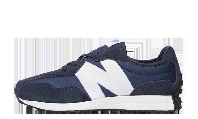 New Balance 327 Junior Navy
