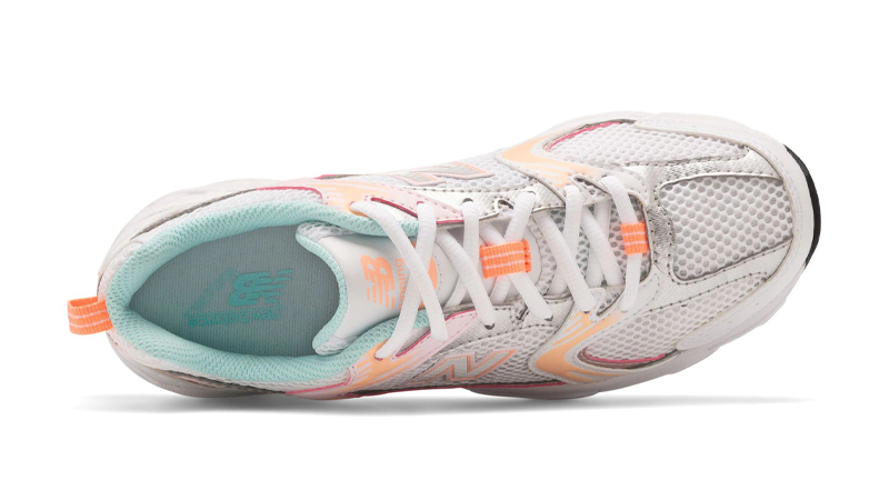 New Balance 530 Munsell White Ginger Pink Middle