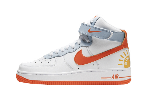 Nike Air Force 1 High Be Kind White Red