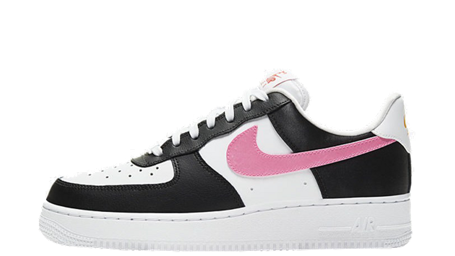 lealtad castigo Pionero  Nike Air Force 1 Low Satin Swoosh Black Pink | Where To Buy | DC4463-100 |  The Sole Womens
