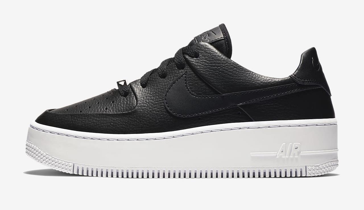 Nike Air Force 1 Sage Black White