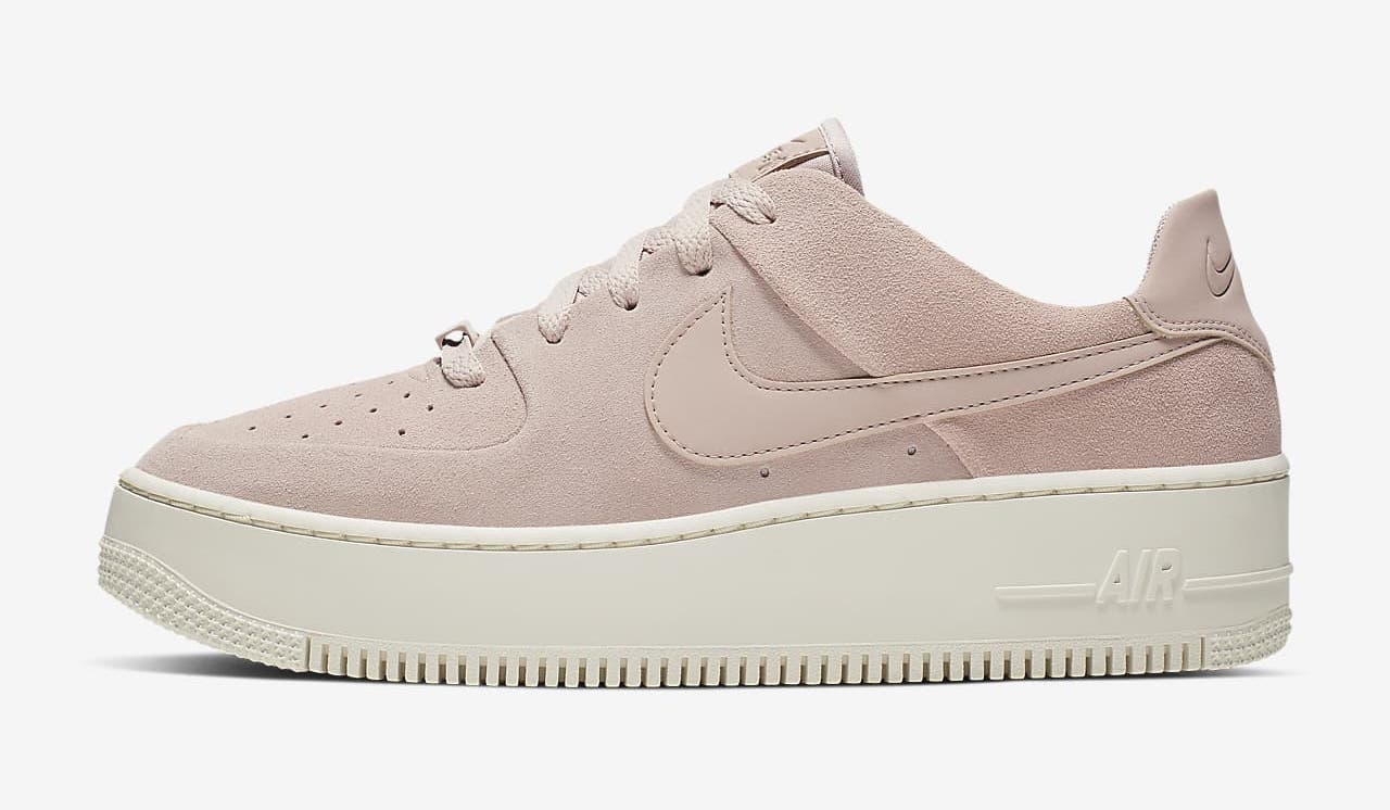 Nike Air Force 1 Sage Particle Beige White