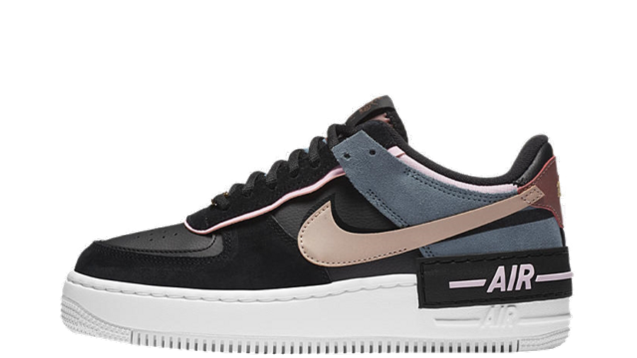 Nike Air Force 1 Shadow Black Metallic Red Bronze Where To Buy Cu5315 001 The Sole Womens Find red air force 1 shoes at nike.com. nike air force 1 shadow black metallic