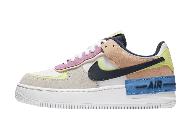 Nike Air Force 1 Shadow Photon Dust Barely Volt