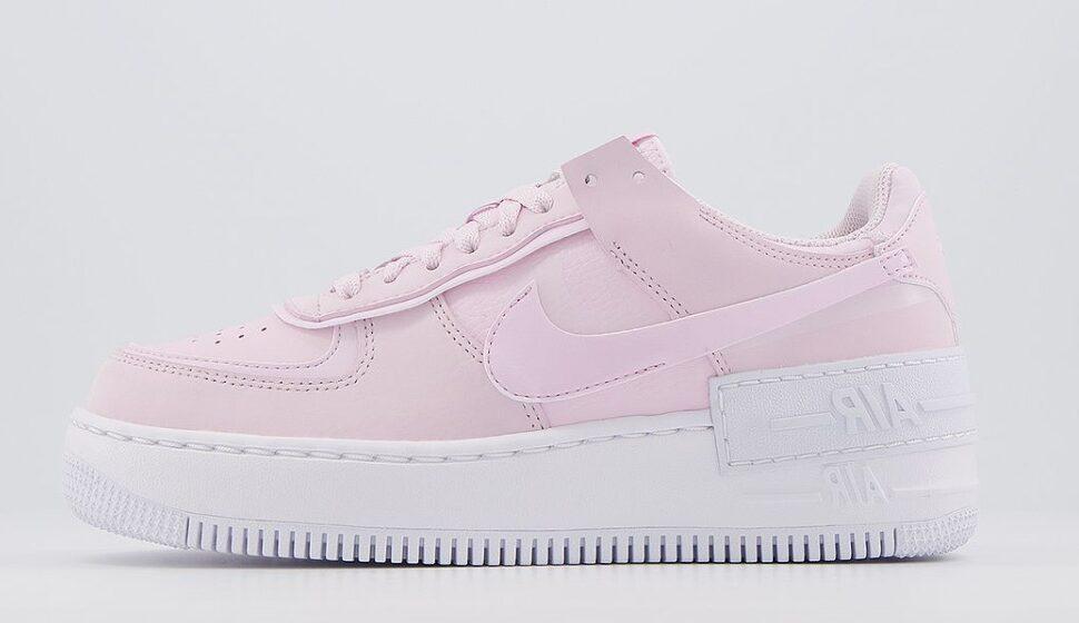 Nike Air Force 1 Shadow Pink Foam White