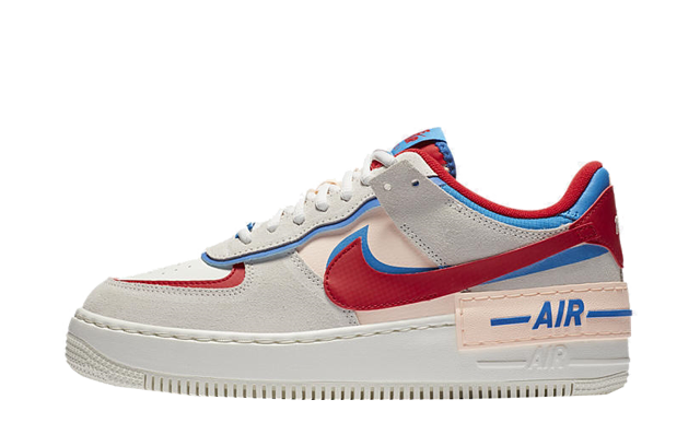 Nike Air Force 1 Shadow Sail University Red