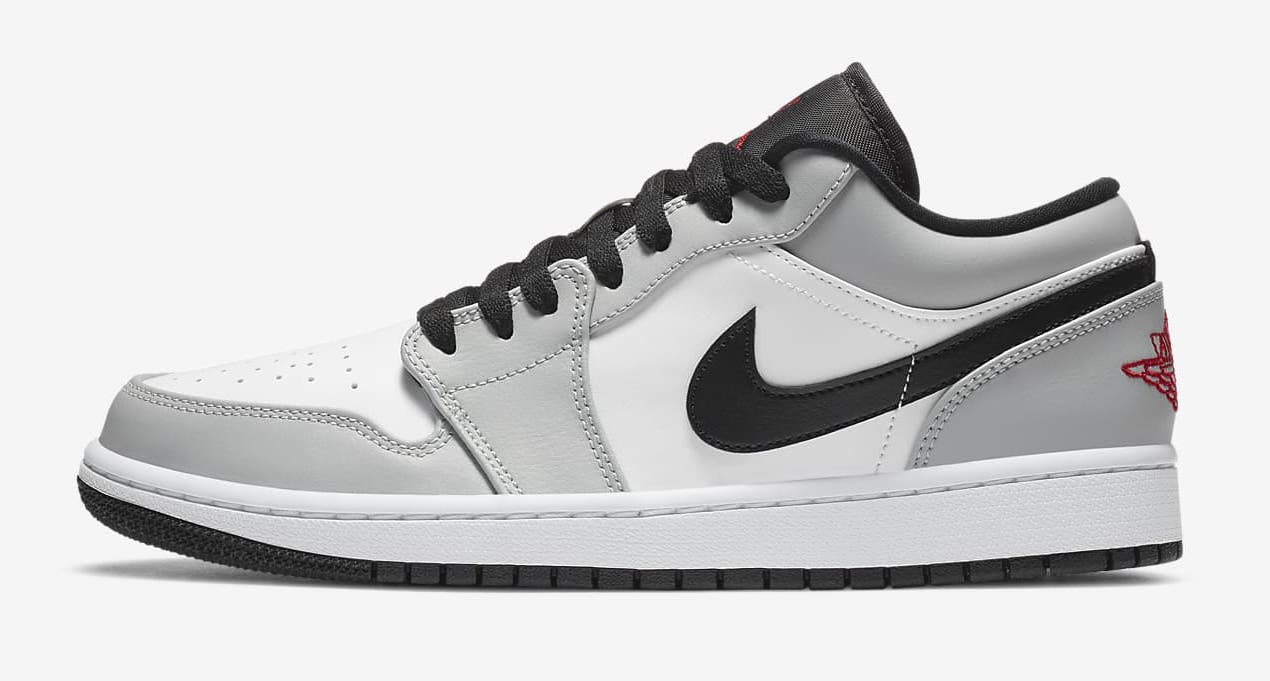 Nike Air Jordan 1 Low Light Smoke Grey.