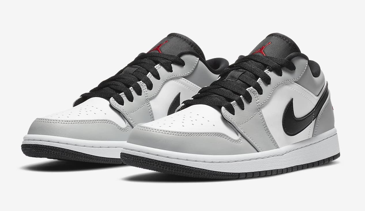 Nike Air Jordan 1 Low Light Smoke Grey