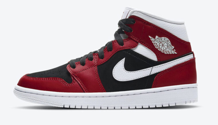 Nike Air Jordan 1 Mid Chicago Gym Red