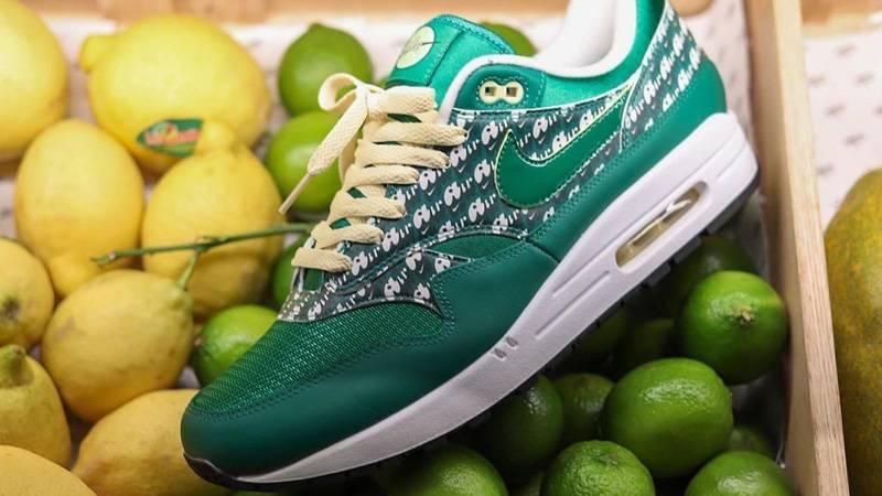 Nike Air Max 1 Powerwall Limeade In Fruit Basket