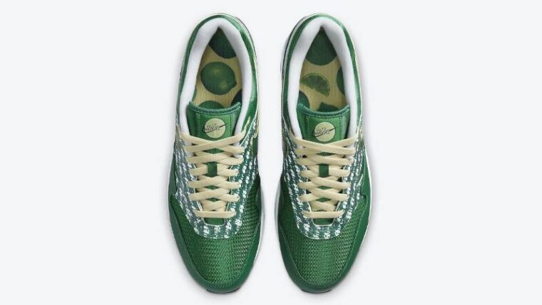 Nike Air Max 1 Powerwall Limeade Middle thumbnail image