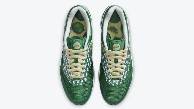 Nike Air Max 1 Powerwall Limeade Middle