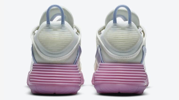 Nike Air Max 2090 Blue Pink Back thumbnail image