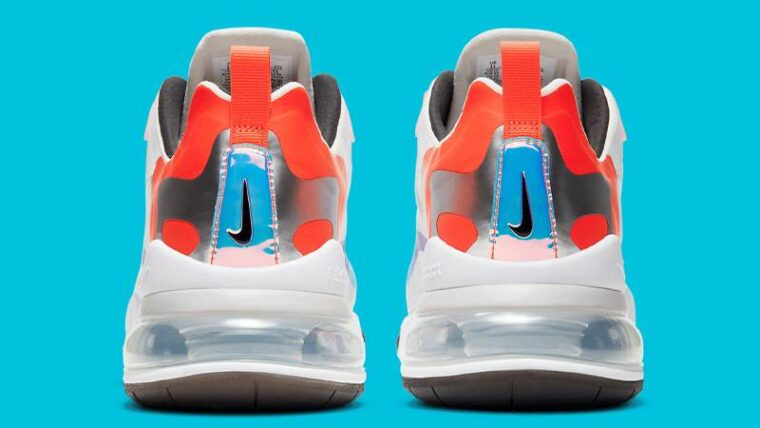 Nike Air Max 270 React League Of Legends Back DC0833-101 thumbnail image