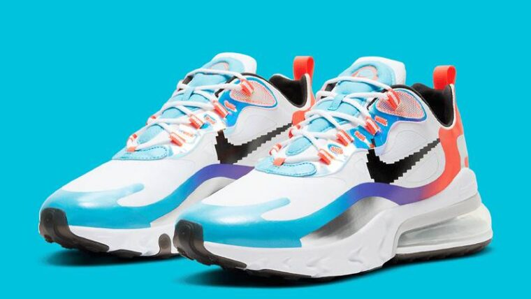 Nike Air Max 270 React League Of Legends Front DC0833-101 thumbnail image