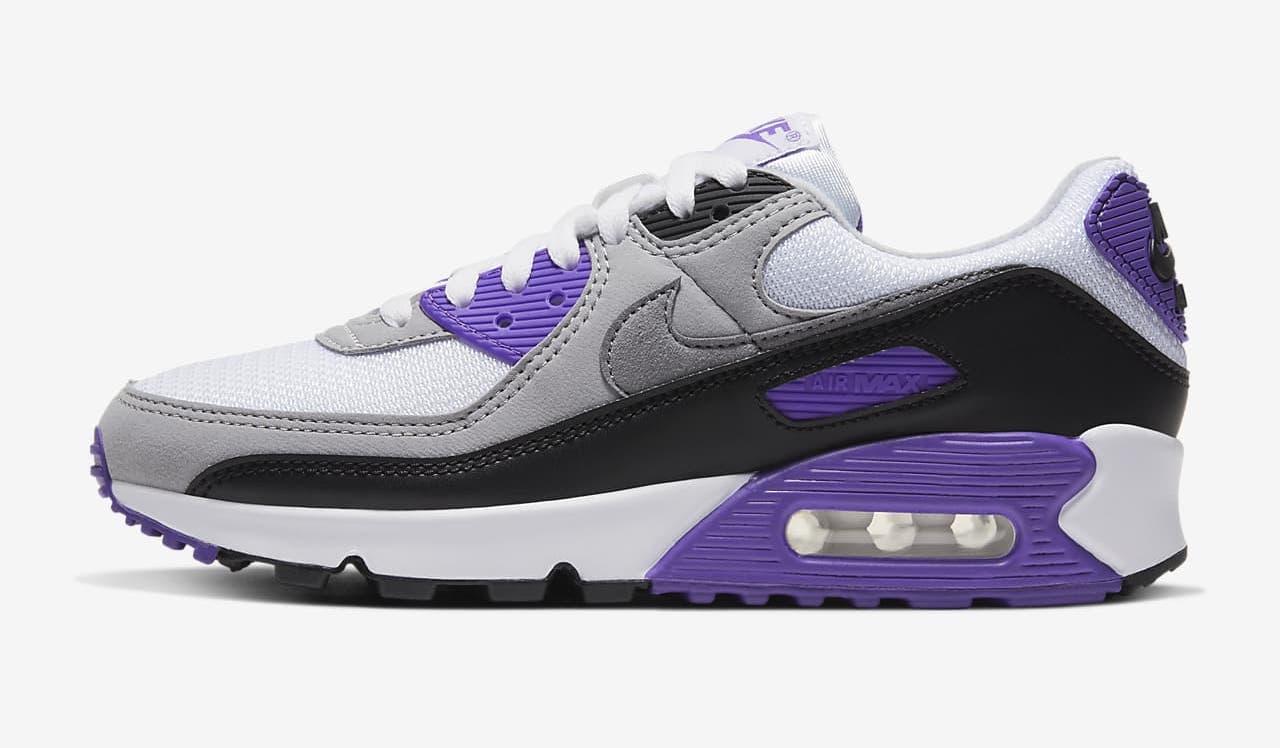 Nike Air Max 90 Grey Purple