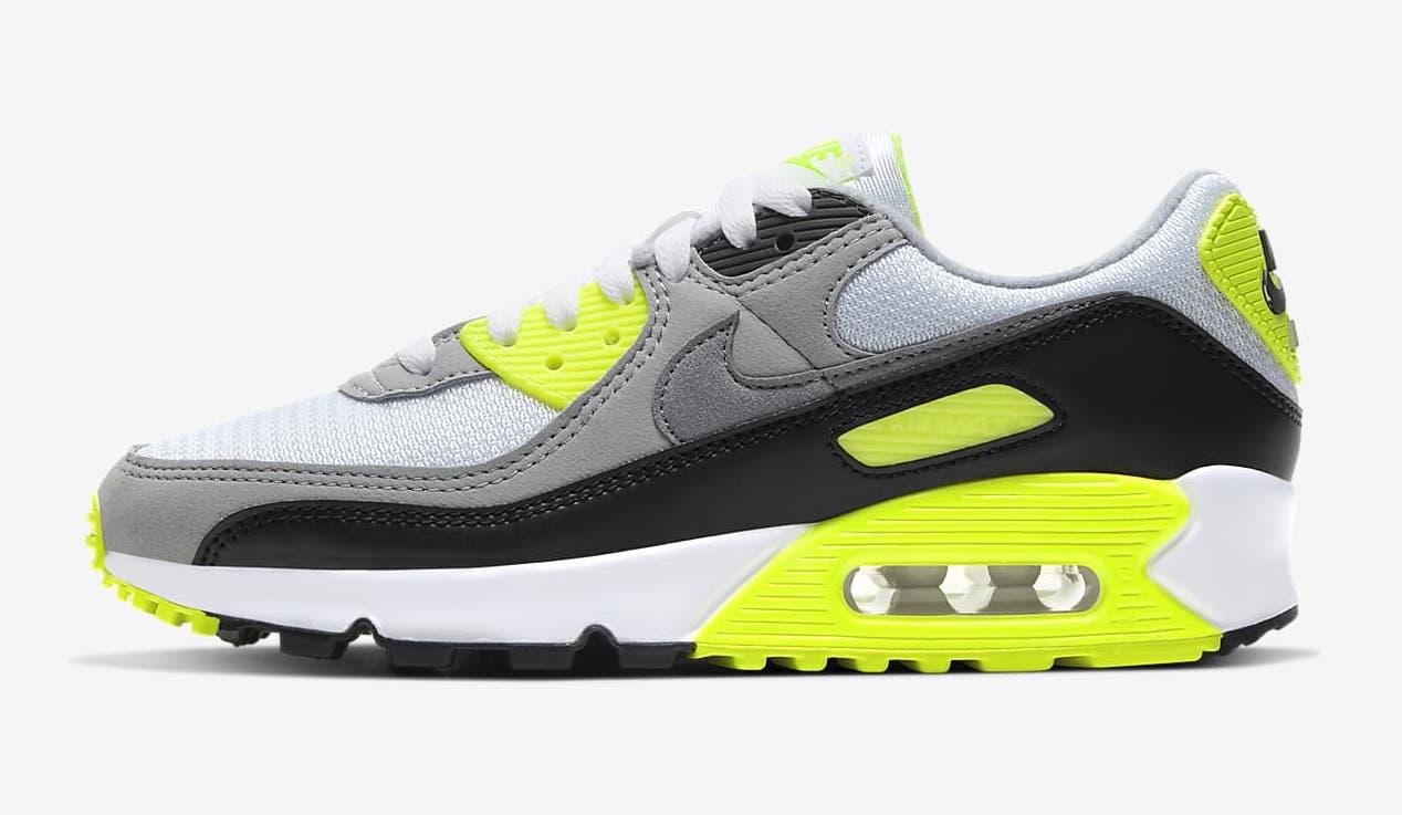 Nike Air Max 90 Grey Yellow